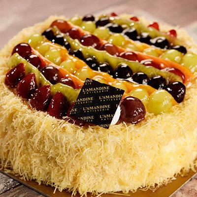Vanilla Fruit Cheese Cake
